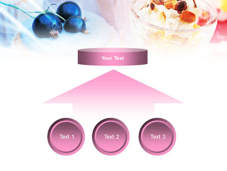Sweets with Fruits PowerPoint Template Slide 8