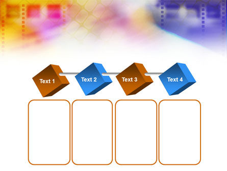 Colorful Lined Theme PowerPoint Template Slide 18