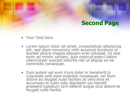Colorful Lined Theme PowerPoint Template Slide 2