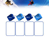 Flying Snowboarder PowerPoint Template#18