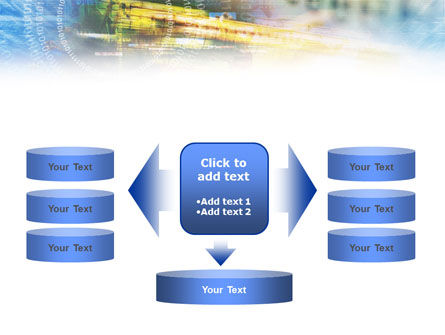 Digital Technology PowerPoint Template Slide 13