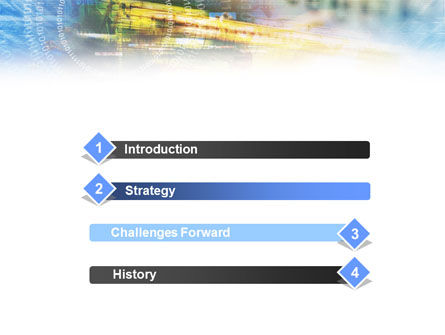 Digital Technology PowerPoint Template, Slide 3, 01112, Abstract/Textures — PoweredTemplate.com