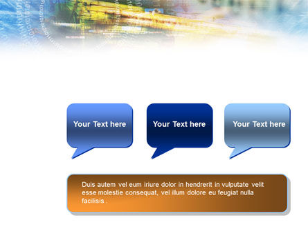 Digital Technology PowerPoint Template Slide 9