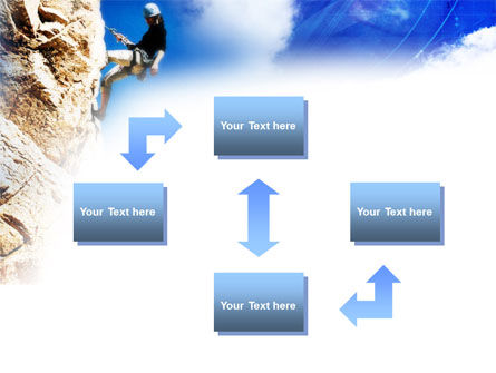 Sport Climbing PowerPoint Template, Slide 4, 01113, Sports — PoweredTemplate.com