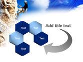 Sport Climbing PowerPoint Template#11