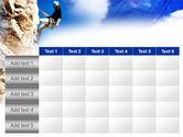 Sport Climbing PowerPoint Template#15