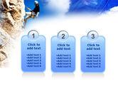 Sport Climbing PowerPoint Template#16