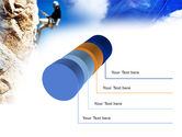 Sport Climbing PowerPoint Template#7