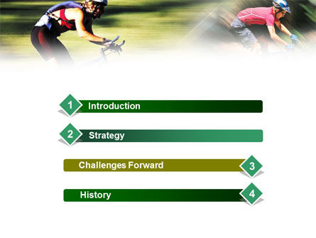 Cycling PowerPoint Template Slide 3