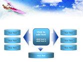 Pink Windsurf PowerPoint Template#13