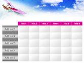 Pink Windsurf PowerPoint Template#15