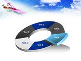 Pink Windsurf PowerPoint Template#19