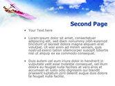 Pink Windsurf PowerPoint Template#2