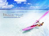 Pink Windsurf PowerPoint Template#20