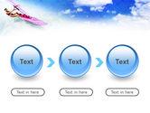 Pink Windsurf PowerPoint Template#5