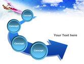 Pink Windsurf PowerPoint Template#6
