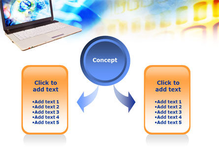 Picture on Laptop Free PowerPoint Template Slide 4
