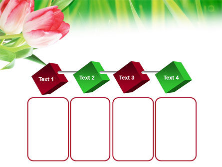 Light Pink Colored Tulips PowerPoint Template Slide 18