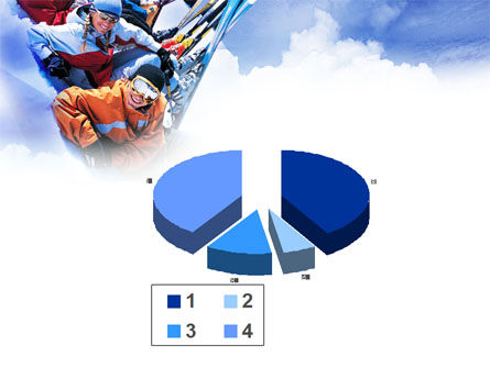 Ski Tourism PowerPoint Template Slide 17