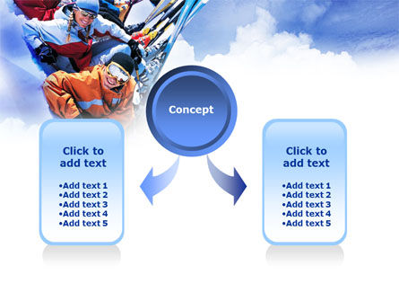 Ski Tourism PowerPoint Template, Slide 4, 01119, Holiday/Special Occasion — PoweredTemplate.com