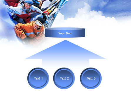 Ski Tourism PowerPoint Template Slide 8