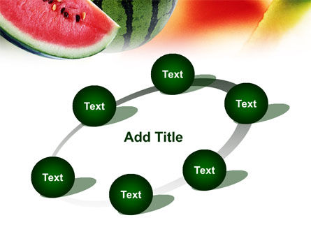 Watermelon PowerPoint Template Slide 14