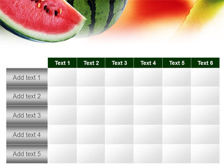 Watermelon PowerPoint Template Slide 15