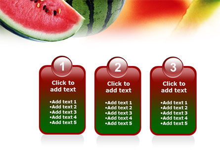 Watermelon PowerPoint Template Slide 16