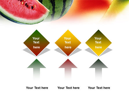 Watermelon PowerPoint Template Slide 5