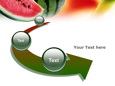 Watermelon PowerPoint Template Slide 6