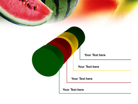 Watermelon PowerPoint Template Slide 7