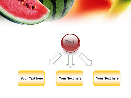 Watermelon PowerPoint Template Slide 8
