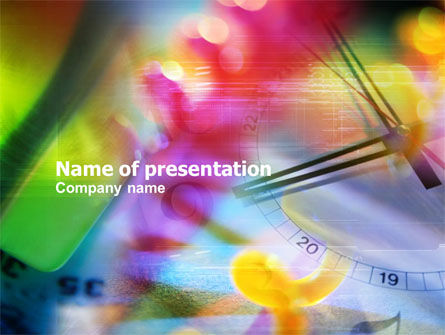 Business Concepts: Due Time PowerPoint Template #01121
