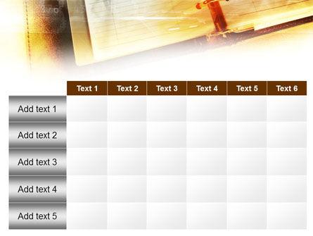 Business Calendar PowerPoint Template Slide 15
