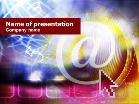 Business: Interactive Search PowerPoint Template #01127