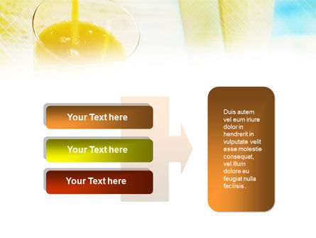 Fresh Juice PowerPoint Template Slide 11