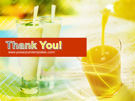 Fresh Juice PowerPoint Template Slide 20