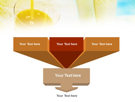 Fresh Juice PowerPoint Template, Slide 3, 01129, Food & Beverage — PoweredTemplate.com
