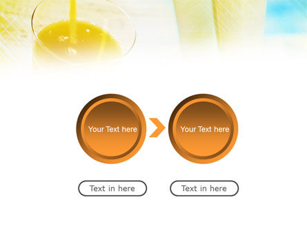Fresh Juice PowerPoint Template Slide 5