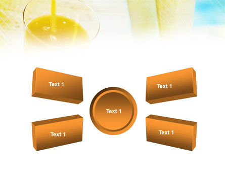 Fresh Juice PowerPoint Template Slide 6