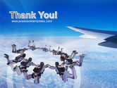 Skydiving PowerPoint Template#20