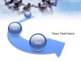 Skydiving PowerPoint Template#6