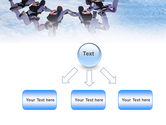 Skydiving PowerPoint Template#8