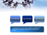 Skydiving PowerPoint Template#9