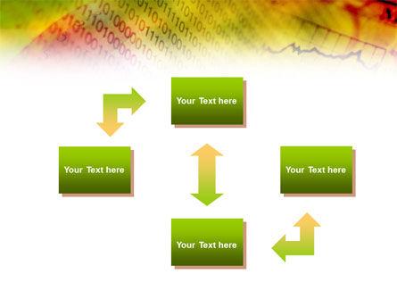 Computer Data PowerPoint Template, Slide 4, 01134, Technology and Science — PoweredTemplate.com