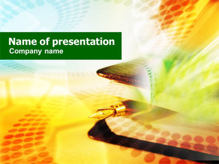 Business Cheque PowerPoint Template
