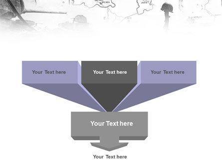 World War II PowerPoint Template Slide 3