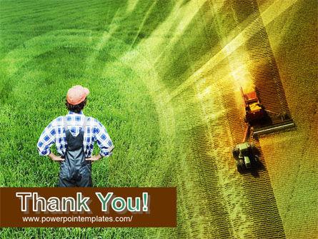 Field Harvesting PowerPoint Template Slide 20