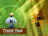 Field Harvesting PowerPoint Template#20