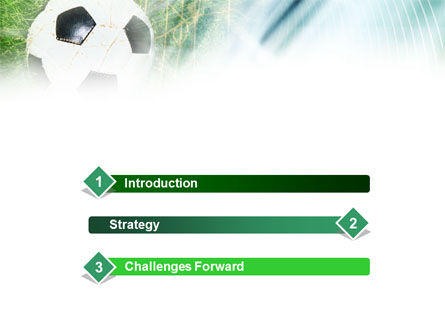 Goal PowerPoint Template, Slide 3, 01144, Sports — PoweredTemplate.com